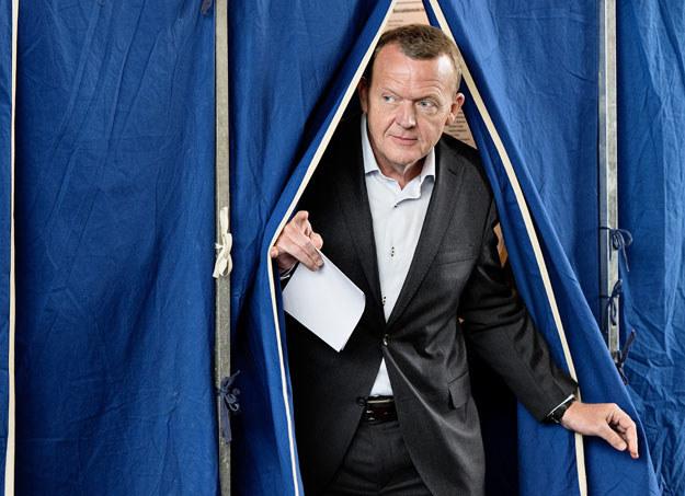 Lider opozycji Lars Lokke Rasmussen zagrał karta imigrancką fot. NILS MEILVANG / SCANPIX DENMARK /AFP