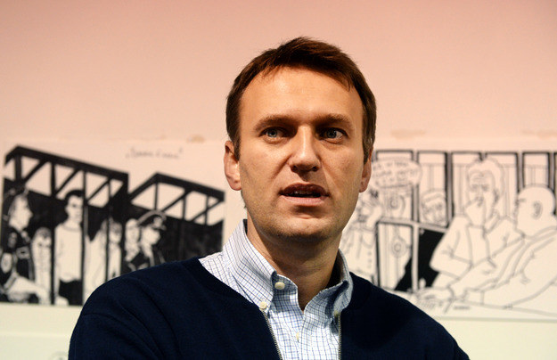 Lider opozycji w Rosji Aleksiej Nawalny /AFP