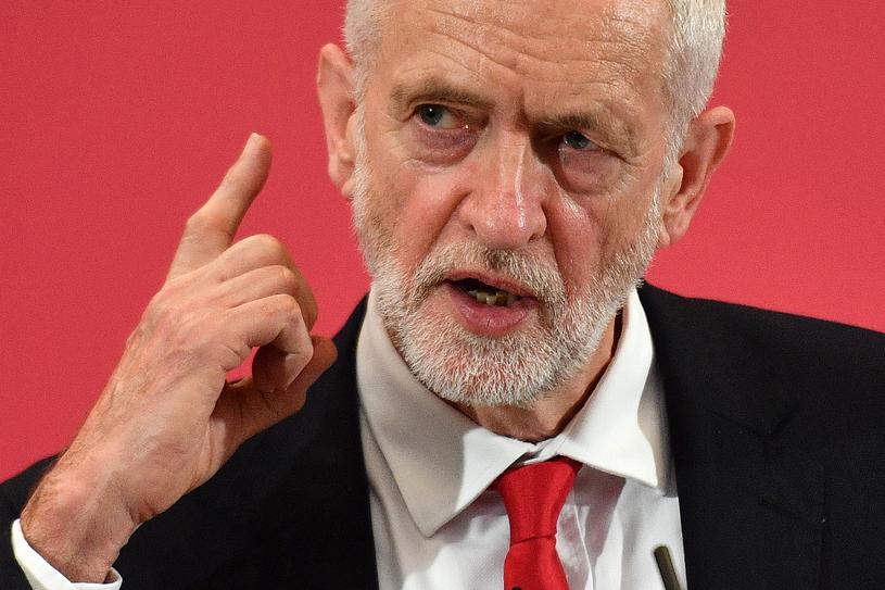 Lider opozycyjnej Partii Pracy Jeremy Corbyn /DANIEL LEAL-OLIVAS /AFP