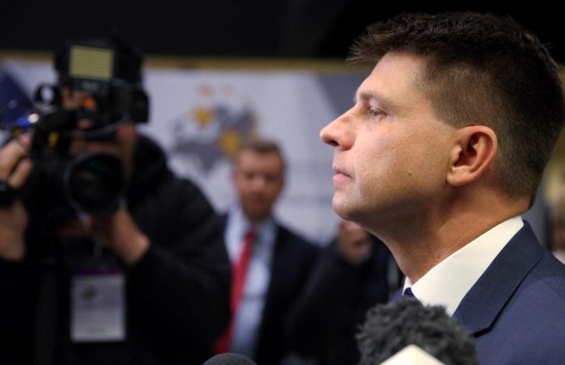 Lider partii Nowoczesna Ryszard Petru /Andrzej Grygiel /PAP