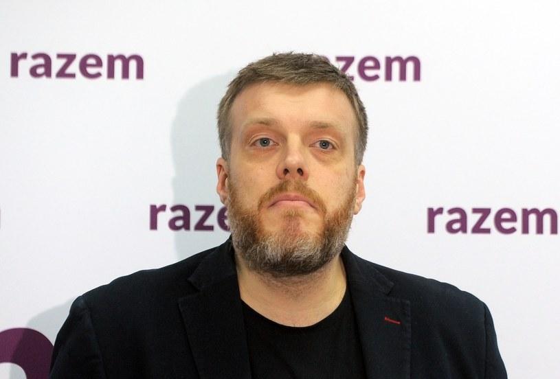 Lider Partii Razem Adrian Zandberg /Jan Bielecki /East News