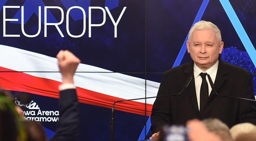 Lider PiS Jarosław Kaczyński /JANEK SKARZYNSKI/JS /East News