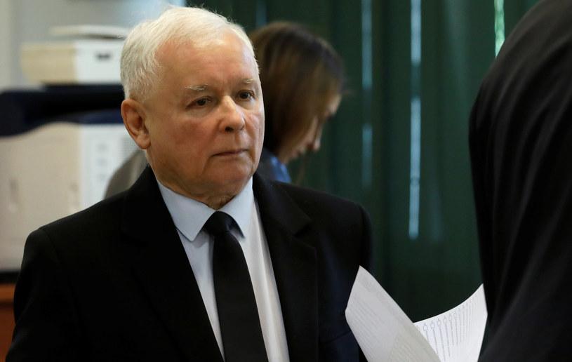 Lider PiS Jarosław Kaczyński /Kacper Pempel /Agencja FORUM