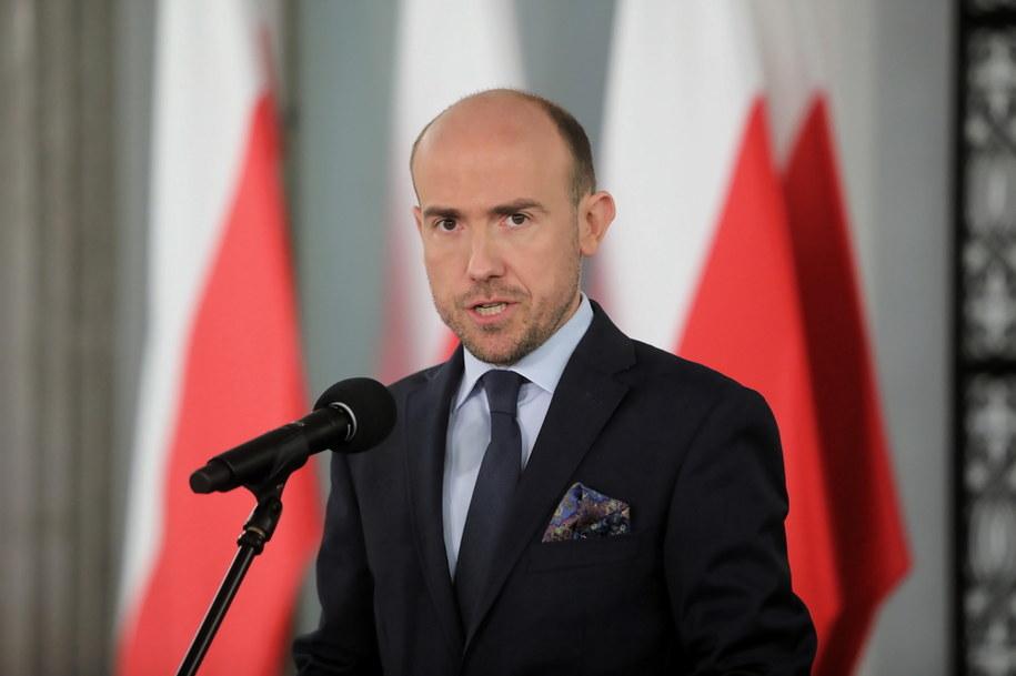 Lider Platformy Obywatelskiej Borys Budka /Wojciech Olkuśnik /PAP