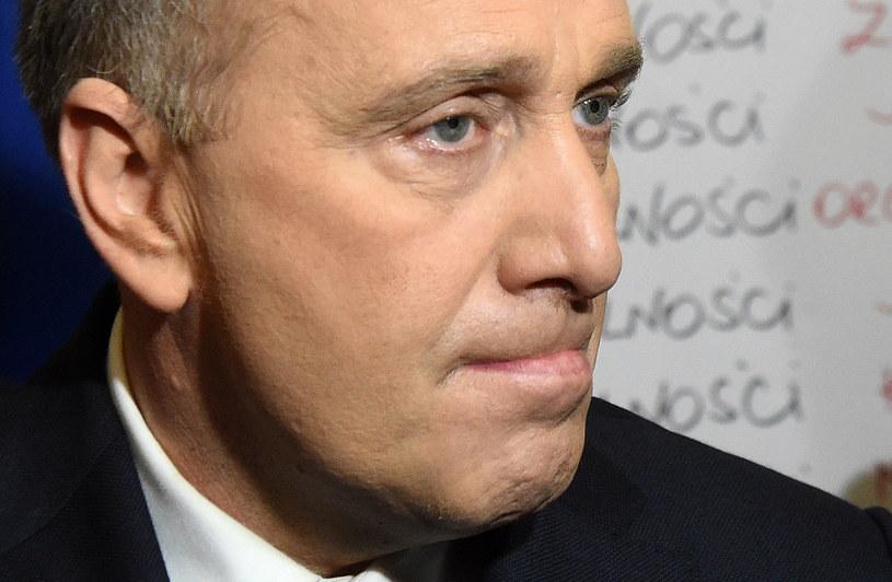 Lider Platformy Obywatelskiej Grzegorz Schetyna /Radek Pietruszka /PAP