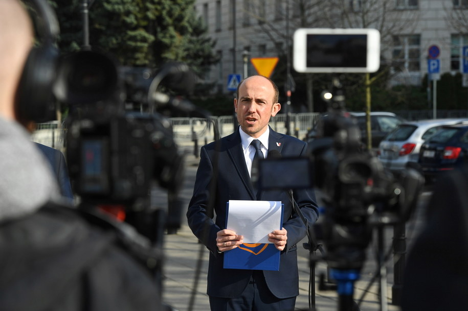 Lider PO Borys Budka / Radek Pietruszka   /PAP