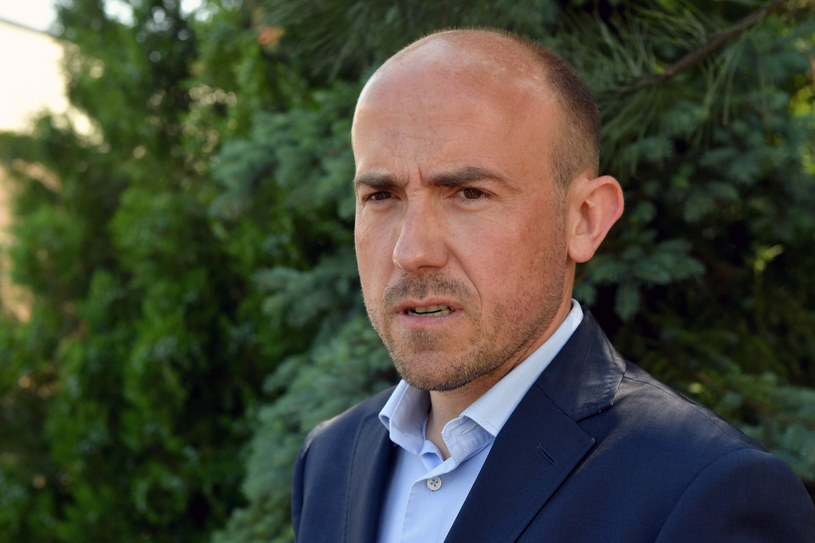 Lider PO Borys Budka /LUKASZ KALINOWSKI /East News