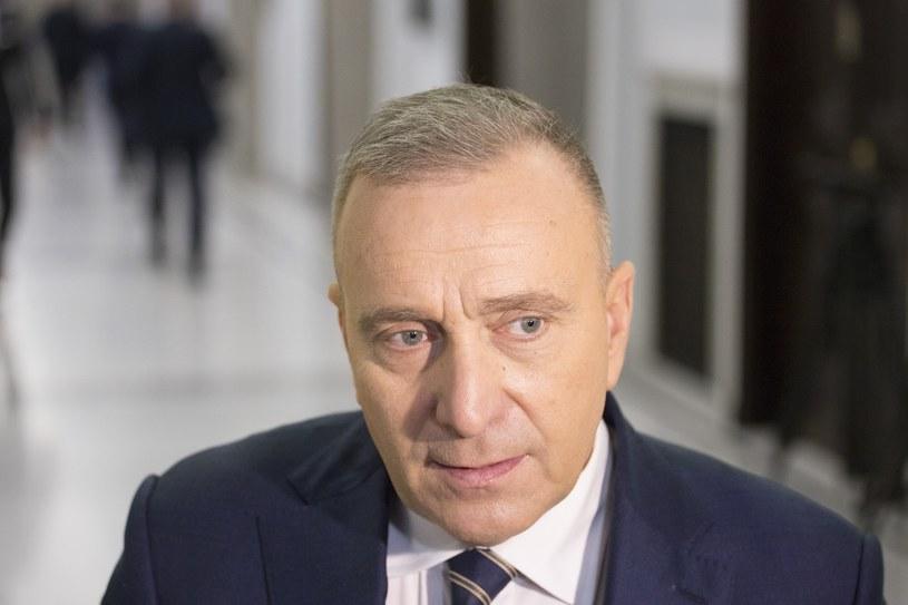 Lider PO Grzegorz Schetyna /Maciej Luczniewski /Reporter