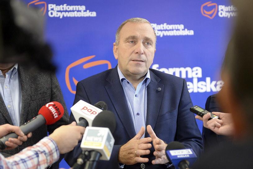 Lider PO Grzegorz Schetyna /Piotr Polak /PAP