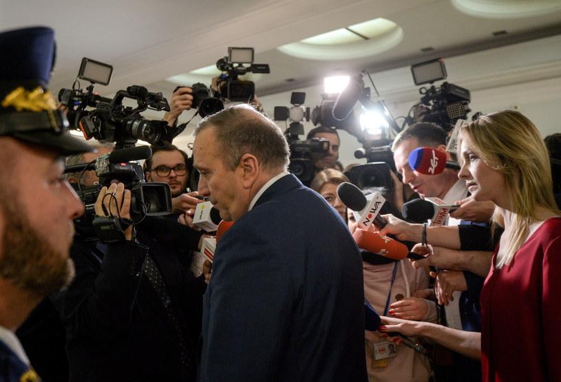 Lider PO Grzegorz Schetyna / Marcin Obara  /PAP