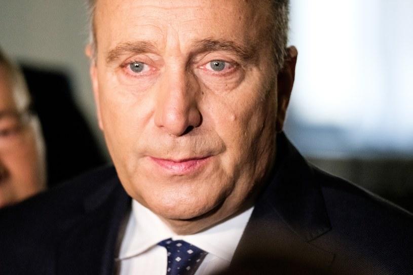 Lider PO Grzegorz Schetyna /Mateusz Grochocki /East News