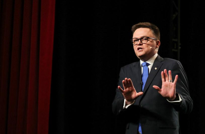 Lider Polski 2050 Szymon Hołownia /Piotr Molecki /East News