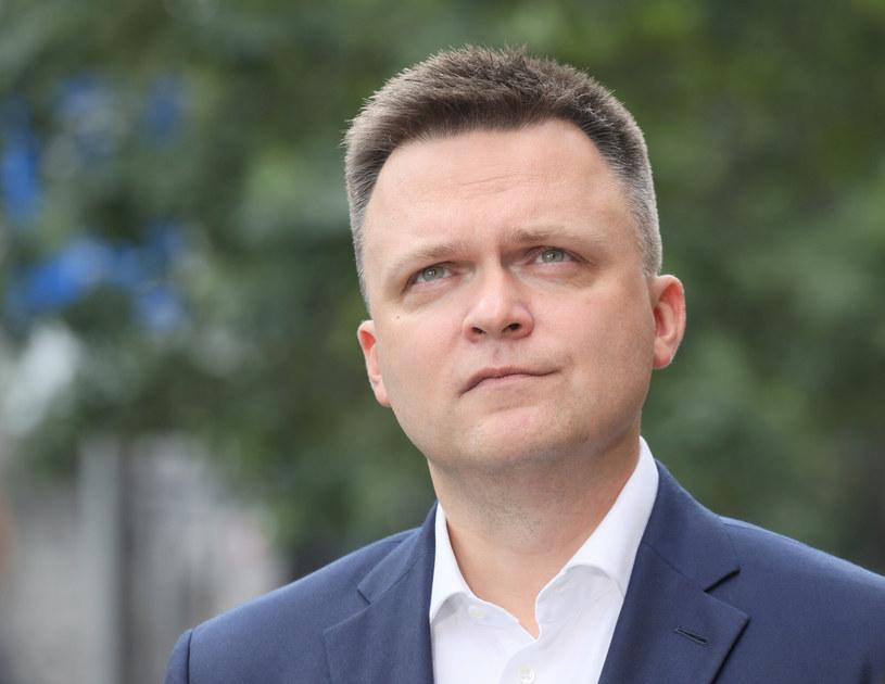 Lider Polski 2050 Szymon Hołownia /Paweł Wodzyński /East News
