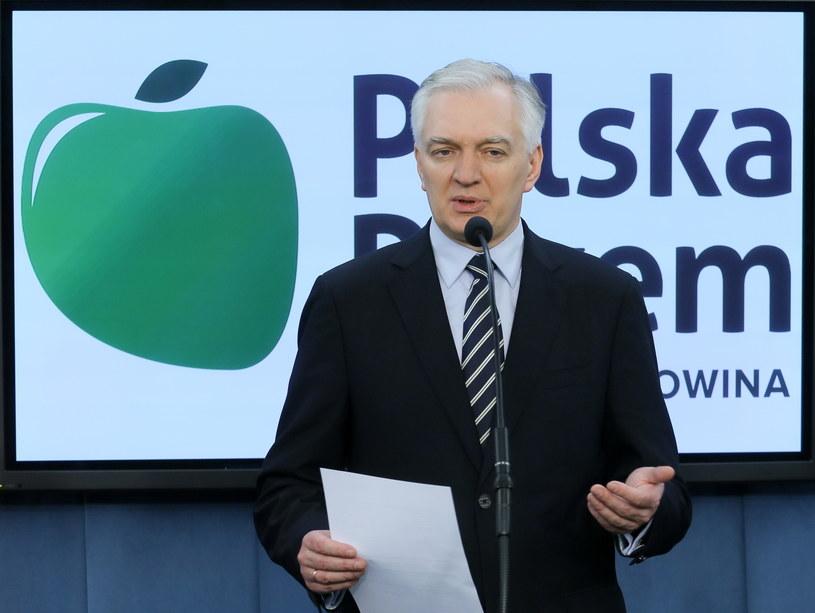 Lider Polski Razem Jarosław Gowin /Paweł Supernak /PAP