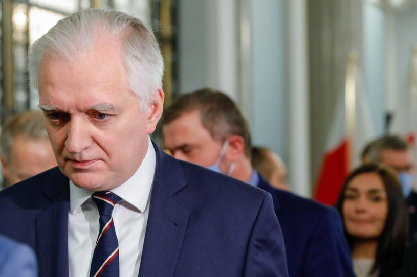 Lider Porozumienia Jarosław Gowin /Grzegorz Banaszak /Agencja FORUM