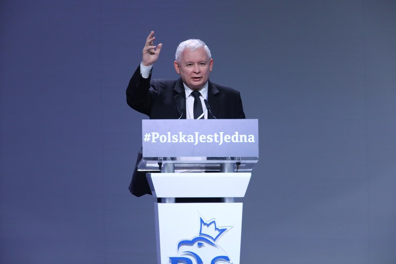 Lider Prawa i Sprawiedliwości Jarosław Kaczyński /Stanisław Kowaczuk /East News