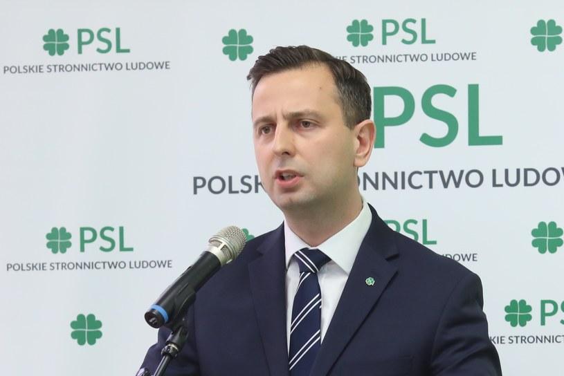 Lider PSL Władysław Kosiniak-Kamysz /fot. Andrzej Iwanczuk/REPORTER /Reporter