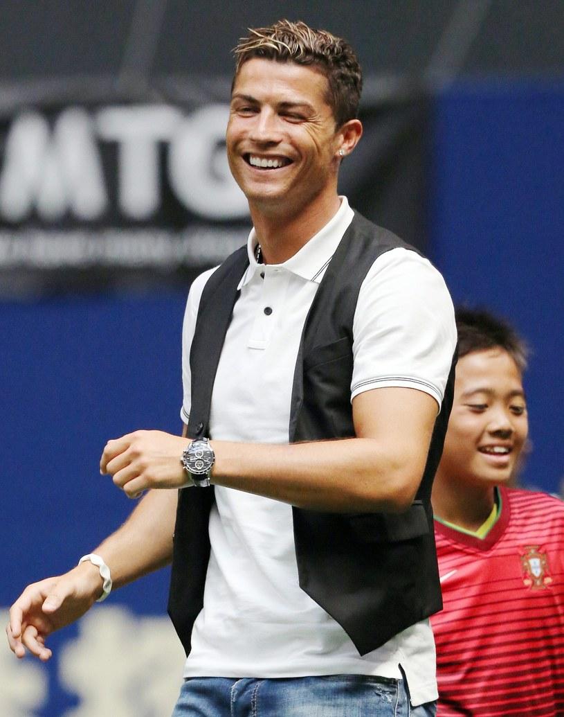 Lider Realu Madryt - Cristiano Ronaldo /AFP