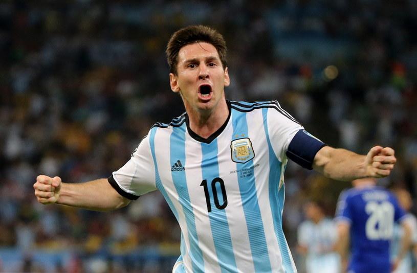 Lider reprezentacji Argentyny Lionel Messi /PAP/EPA