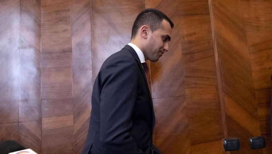 Lider Ruchu Pięciu Gwiazd Luigi Di Maio /MASSIMO PERCOSSI /PAP/EPA