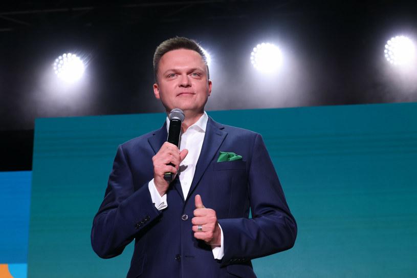 Lider ruchu Polska 2050 Szymon Hołownia /Jacek Dominski/ /Reporter