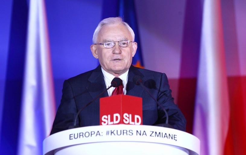 Lider SLD Leszek Miller. /Stanisław Kowalczuk /East News