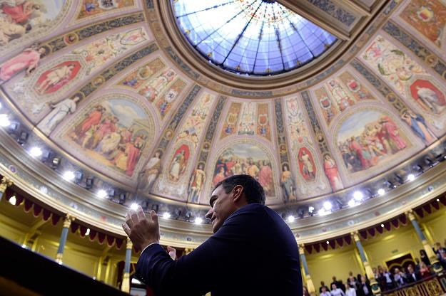 Lider socjalistów Pedro Sanchez nowym premierem Hiszpanii /PAP