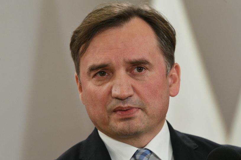 Lider Solidarnej Polski i minister sprawiedliwości Zbigniew Ziobro /Jacek Dominski/ /Reporter