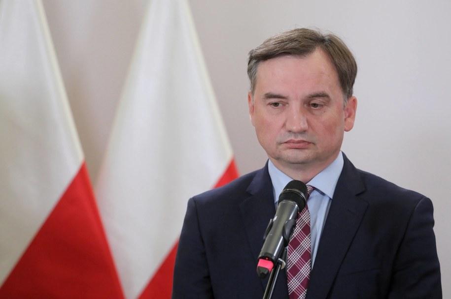 Lider Solidarnej Polski, minister sprawiedliwości Zbigniew Ziobro /Paweł Supernak /PAP