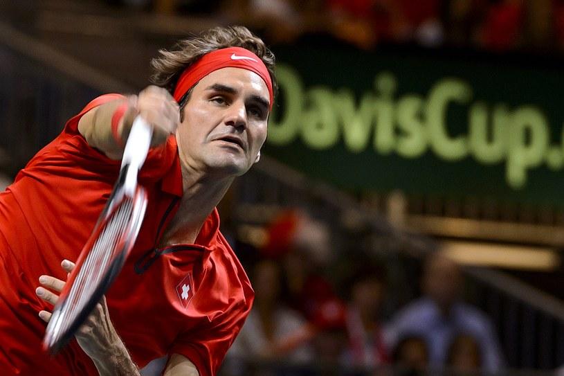 Lider Szwajcarów - Roger Federer /AFP