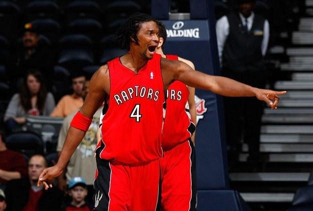 Lider Toronto Raptors - Chris Bosh /AFP