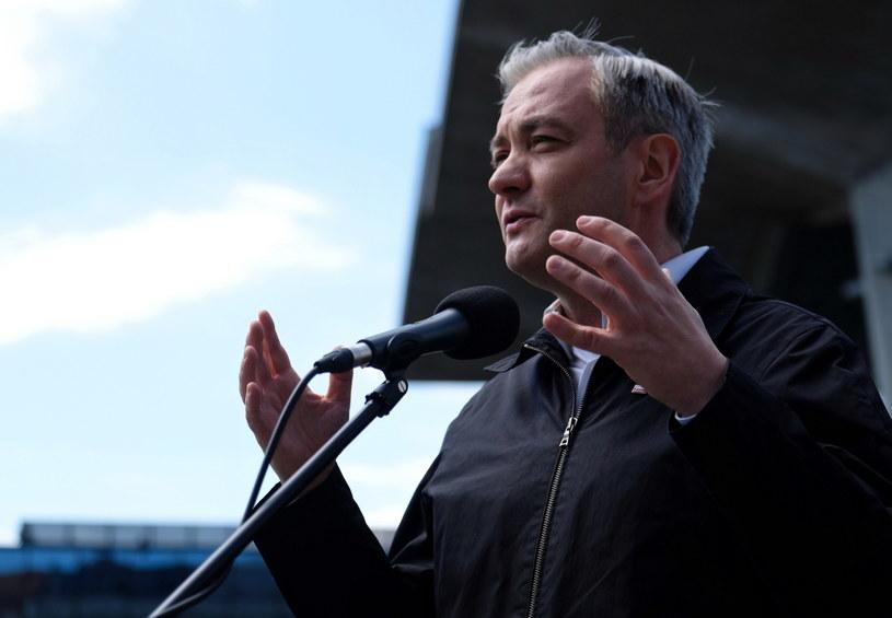 Lider Wiosny i kandydat Lewicy w wyborach prezydenckich Robert Biedroń /Andrzej  Grygiel /PAP