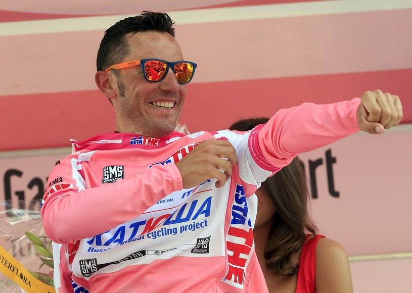 Lider wyścigu - Joaquin Rodriguez /AFP