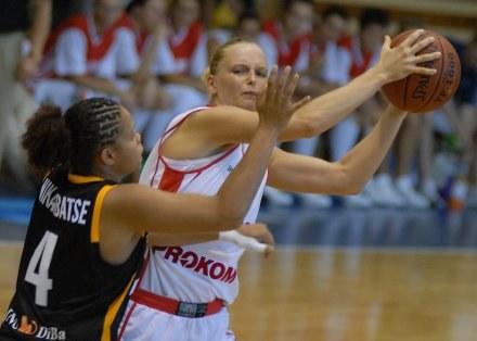 Liderka Polek, Agnieszka Bibrzycka,FOT.Mariusz Kraczaniec /Agencja Przegląd Sportowy