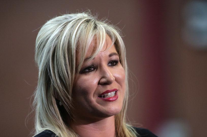Liderka północnoirlandzkiej partii Sinn Fein Michelle O'Neill wezwała do zorganizowania referendum /AFP