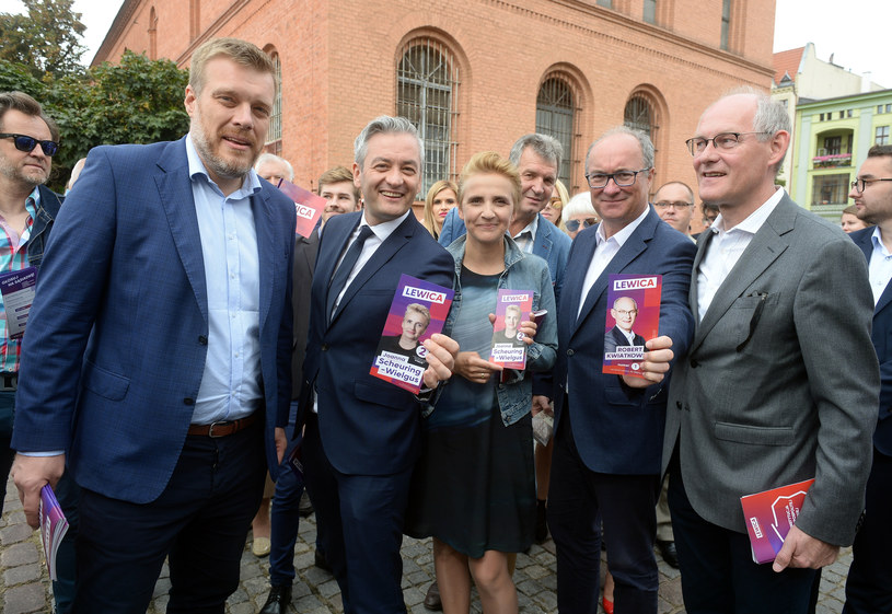 Liderzy Lewicy w podróży po Polsce /Jan Bielecki /East News