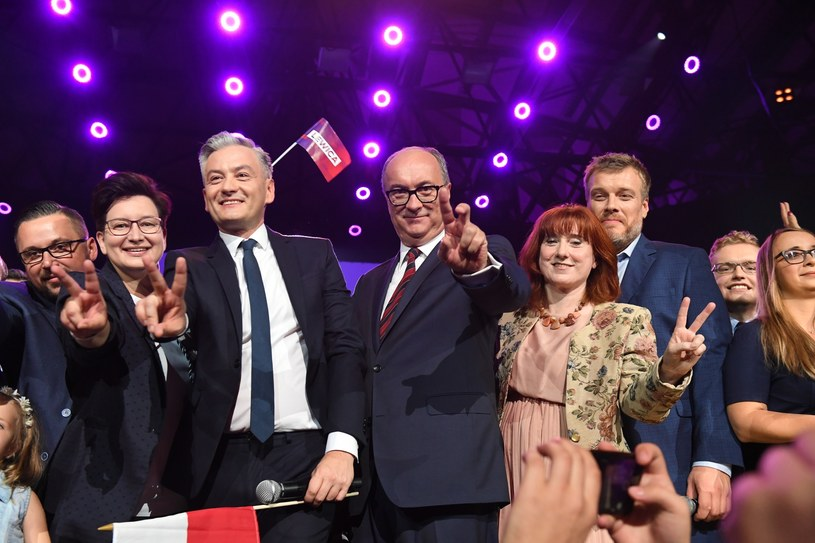 Liderzy Lewicy /Jacek Domiński /Reporter