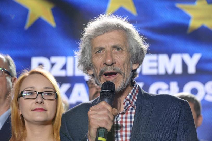 Liderzy Zielonych: Małgorzata Tracz i Marek Kossakowski /Jan Bielecki /East News