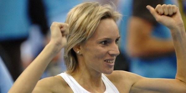 Lidia Chojecka z uporem walczyła o minimum olimpijskie /AFP