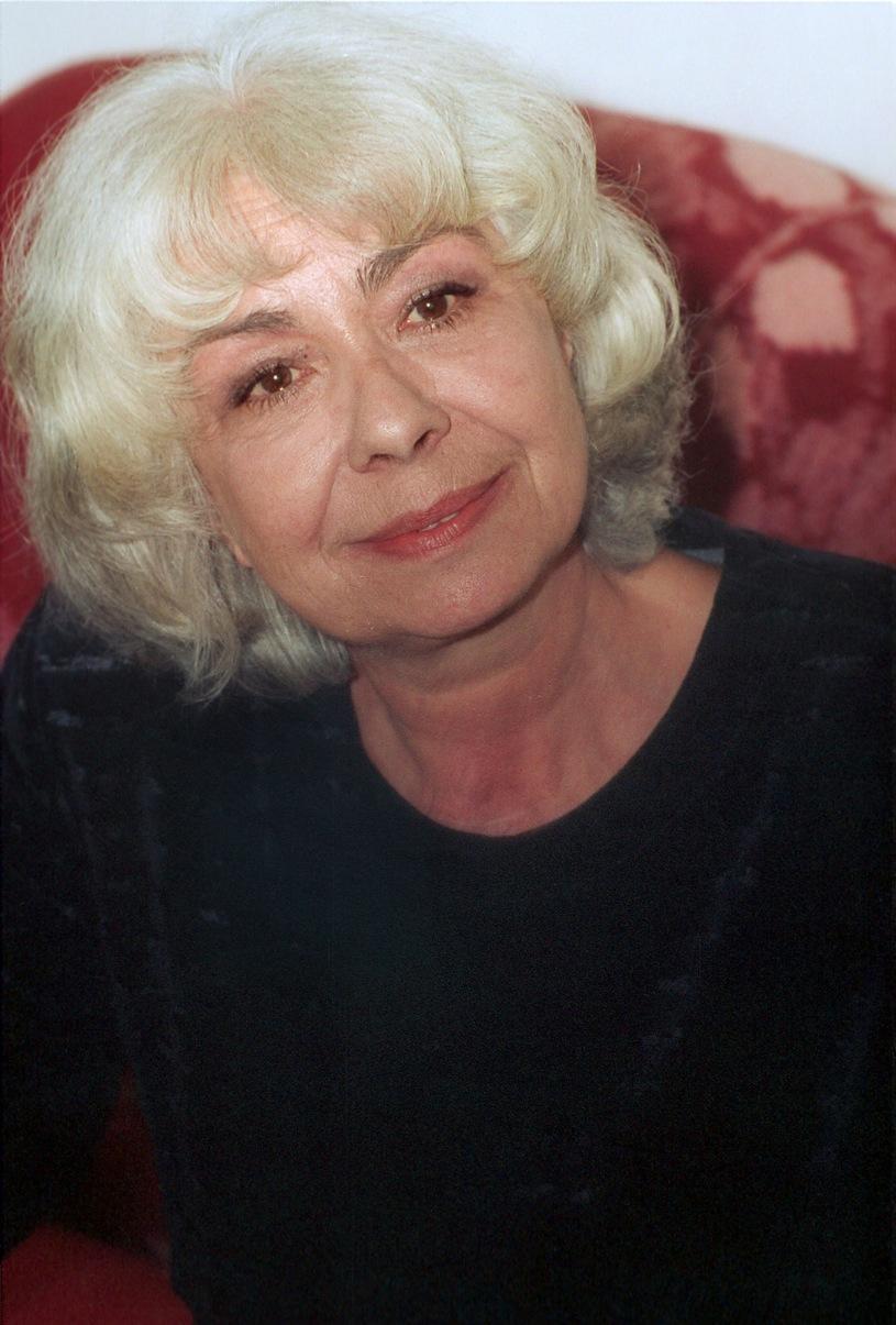 Lidia Korsakówna w swoim domu w 2000 roku /Michał Kułakowski /Reporter