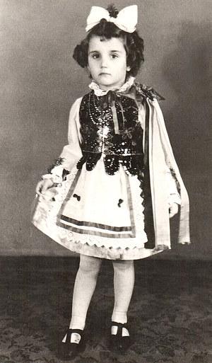 Lidia Maksymowicz po wojnie /archiwum prywatne