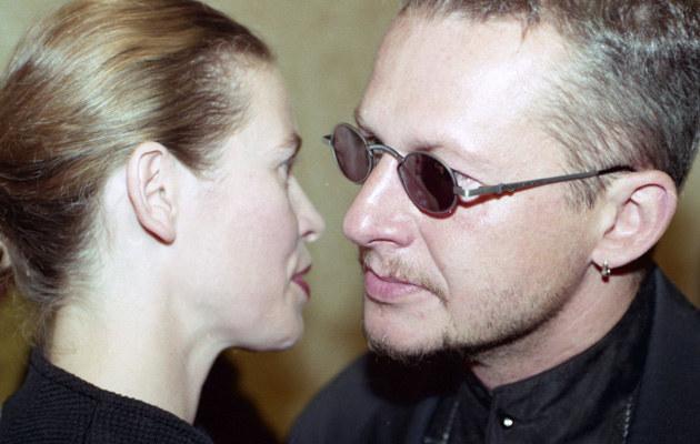 Lidia Popiel i Bogusław Linda /Żyburtowicz /East News