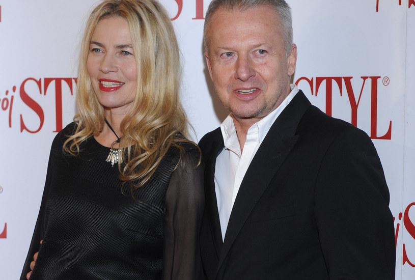 Lidia Popiel i Bogusław Linda /Jarosław Antoniak /MWMedia