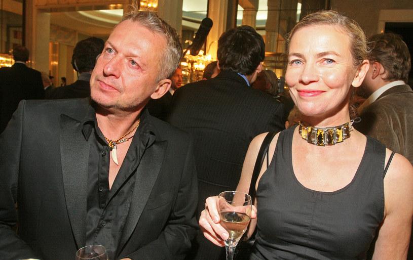 Lidia Popiel i Bogusław Linda /Marcin Dlawichowski /Agencja FORUM