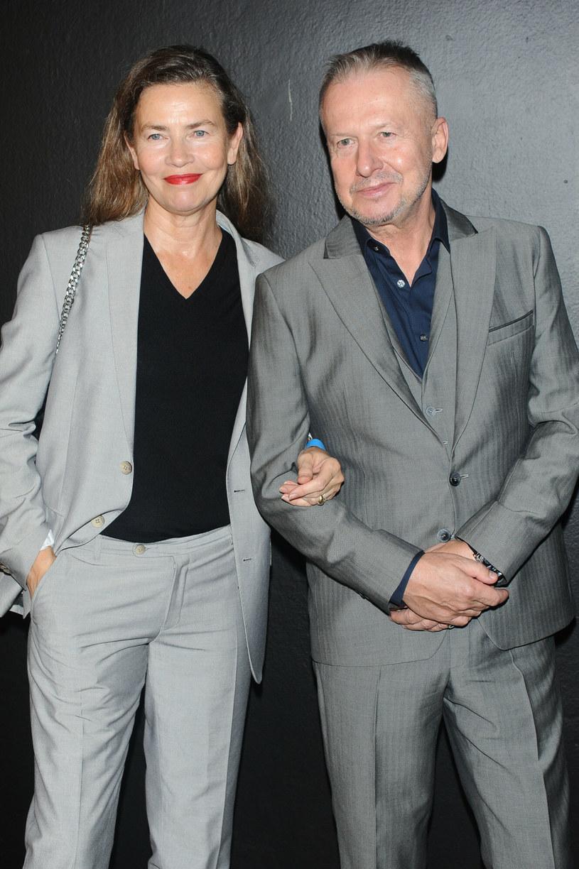 Lidia Popiel i Bogusław Linda /VIPHOTO /East News