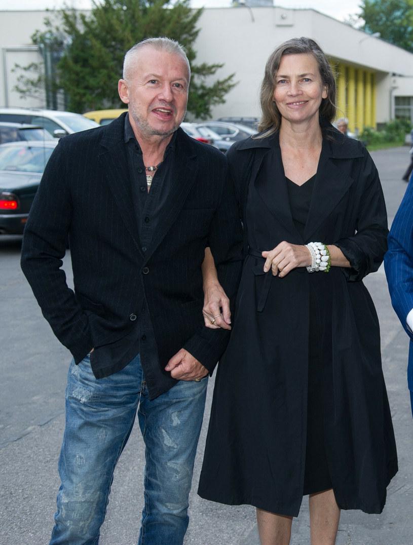 Lidia Popiel i Bogusław Linda /Bartosz Krupa /East News