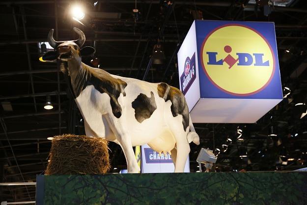 Lidl wystawiał się na targach rolniczych w Paryżu /AFP