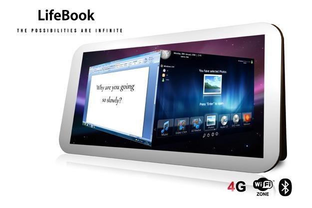 LifeBook - pomysł ciekawy, ale czy realny? /materiały prasowe