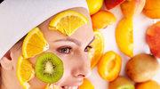 Liftingująca maseczka z twarogiem i pomarańczą