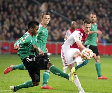 Liga Europejska: Ajax Amsterdam - Legia Warszawa 1-0